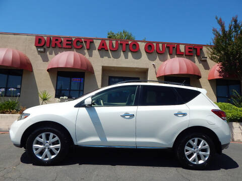 2012 Nissan Murano for sale at Direct Auto Outlet LLC in Fair Oaks CA