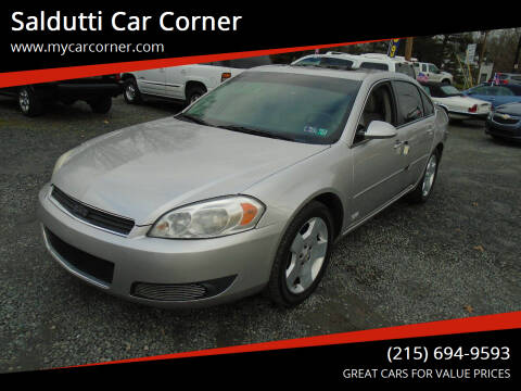 2006 Chevrolet Impala for sale at Saldutti Car Corner in Gilbertsville PA