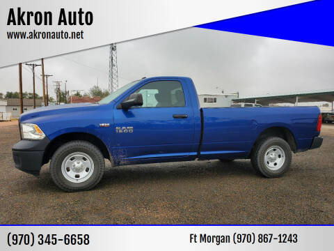 2015 RAM Ram Pickup 1500 for sale at Akron Auto in Akron CO