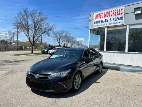2016 Toyota Camry for sale at United Motors LLC in Saint Francis WI