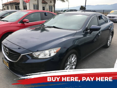 2015 Mazda MAZDA6 for sale at Soledad Auto Sales in Soledad CA
