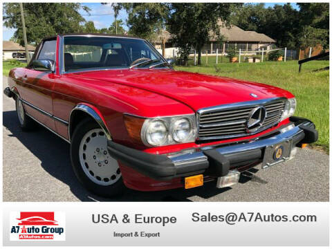 1988 Mercedes-Benz 560-Class for sale at A7 AUTO SALES in Holly Hill FL