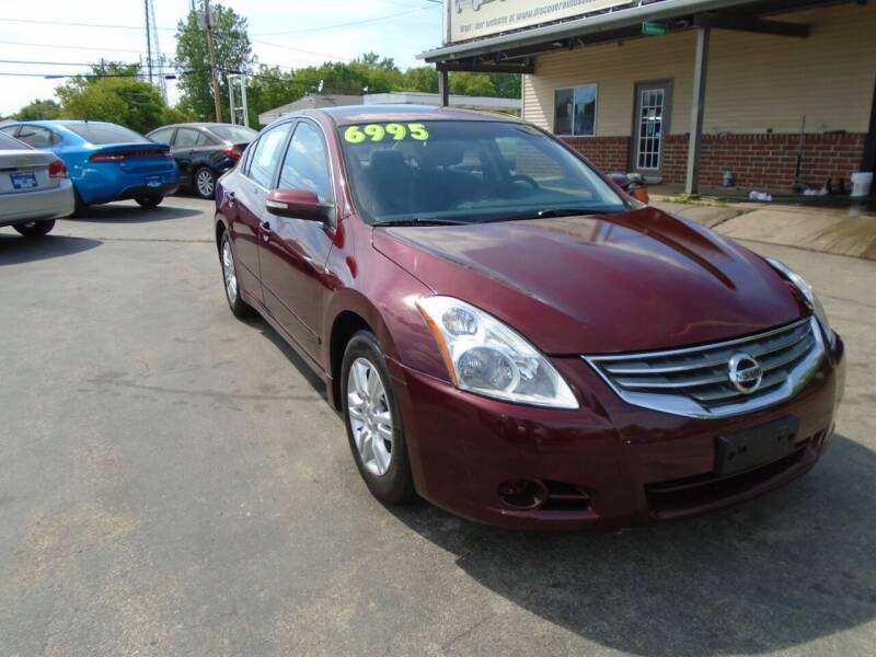 2010 Nissan Altima for sale at DISCOVER AUTO SALES in Racine WI