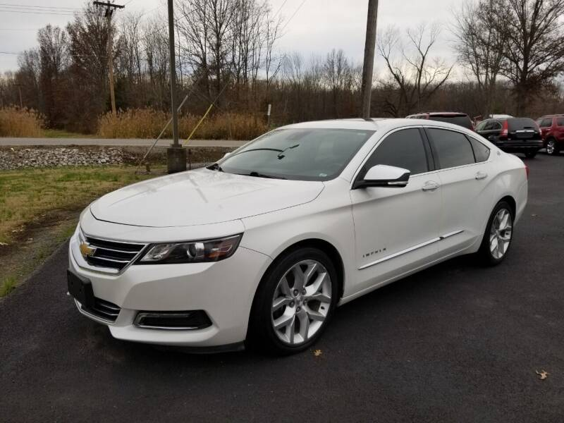 2015 Chevrolet Impala for sale at Ridgeway's Auto Sales in West Frankfort IL