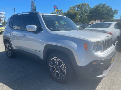 2015 Jeep Renegade for sale at MISSION AUTOS in Hayward CA