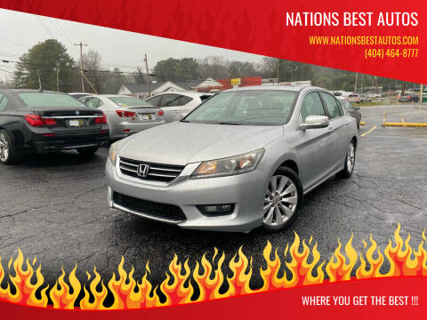 2014 Honda Accord for sale at Nations Best Autos in Decatur GA