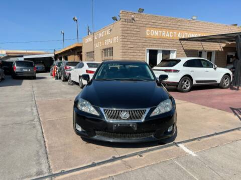 2010 Lexus IS 250 for sale at CONTRACT AUTOMOTIVE in Las Vegas NV