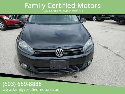2014 Volkswagen Jetta for sale at Family Certified Motors in Manchester NH