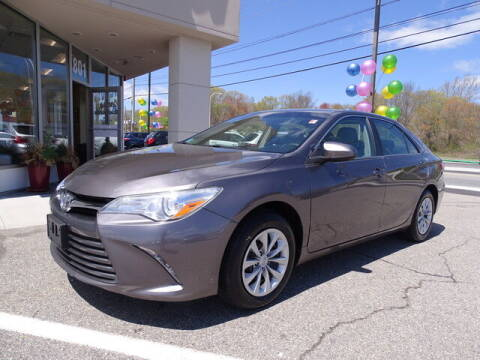 2015 Toyota Camry for sale at KING RICHARDS AUTO CENTER in East Providence RI