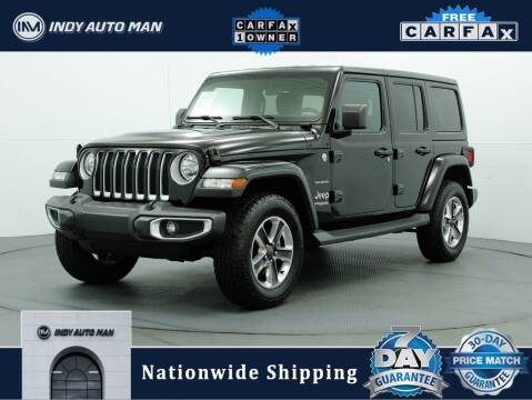 2019 Jeep Wrangler Unlimited for sale at INDY AUTO MAN in Indianapolis IN
