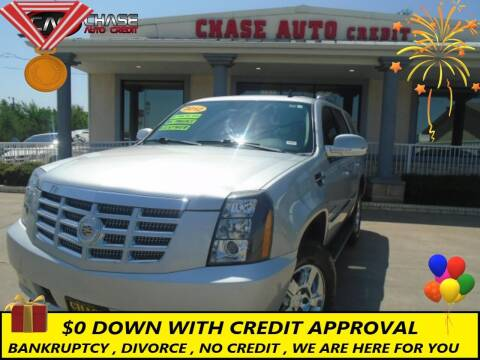2012 Cadillac Escalade for sale at Chase Auto Credit in Oklahoma City OK
