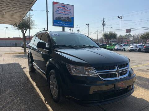 2014 Dodge Journey for sale at Magic Auto Sales - Cash Cars in Dallas TX
