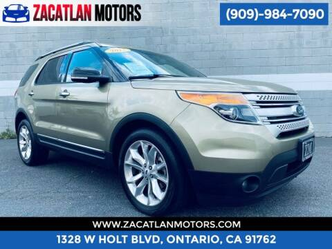 2013 Ford Explorer for sale at Ontario Auto Square in Ontario CA