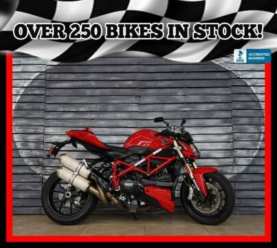 2012 Ducati Streetfighter 848 for sale at AZautorv.com in Mesa AZ