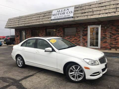 2013 Mercedes-Benz C-Class for sale at Allen Motor Company in Eldon MO