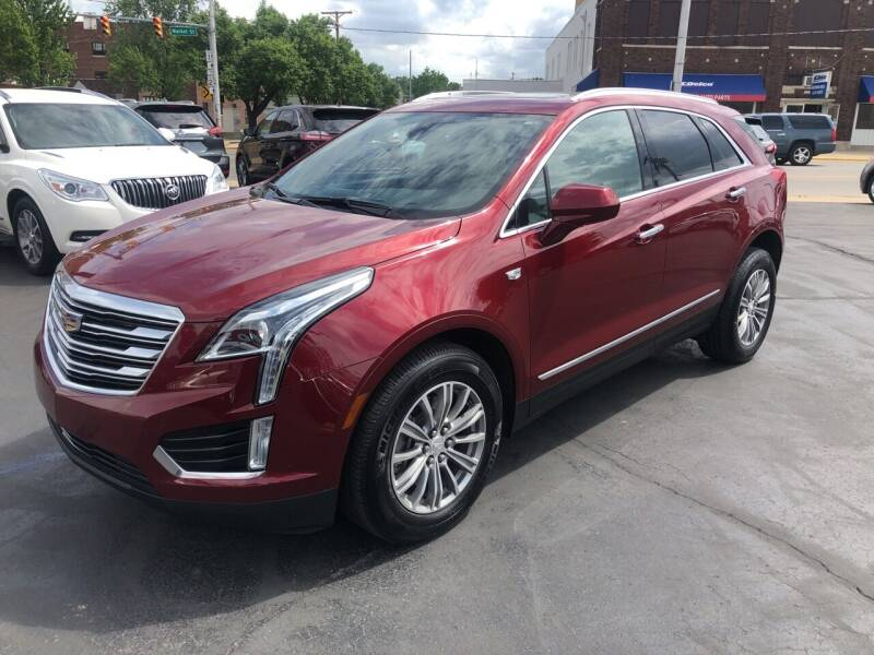 2017 Cadillac XT5 for sale at N & J Auto Sales in Warsaw IN