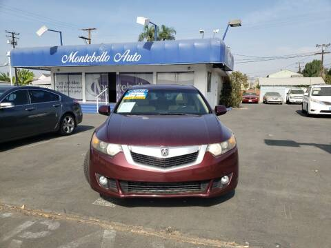 2010 Acura TSX for sale at Montebello Auto Sales in Montebello CA