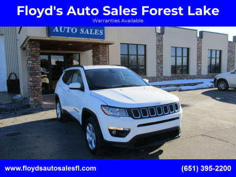 2020 Jeep Compass for sale at Floyd's Auto Sales Forest Lake in Forest Lake MN