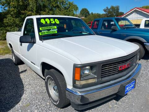 1998 GMC Sierra 1500 for sale at Rocket Center Auto Sales in Mount Carmel TN
