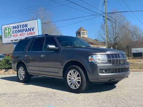 2014 Lincoln Navigator for sale at GR Motor Company in Garner NC