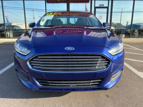 2015 Ford Fusion for sale at East Carolina Auto Exchange in Greenville NC