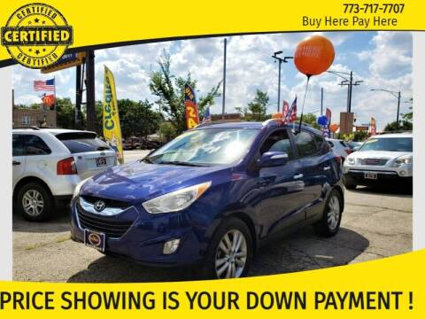 2011 Hyundai Tucson for sale at AutoBank in Chicago IL