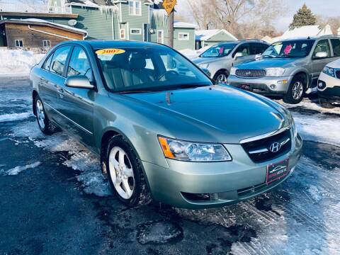2008 Hyundai Sonata for sale at SHEFFIELD MOTORS INC in Kenosha WI