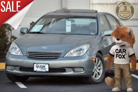 2002 Lexus ES 300 for sale at JDM Auto in Fredericksburg VA