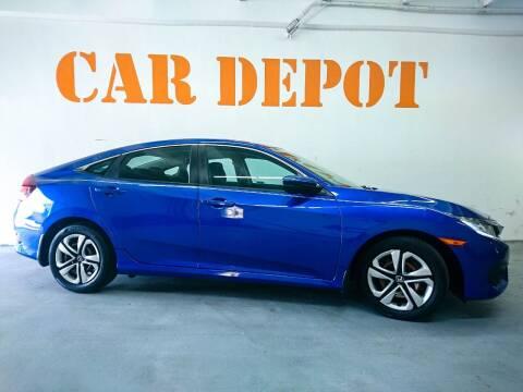 2018 Honda Civic for sale at Car Depot in Miramar FL