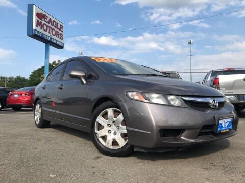 2011 Honda Civic for sale at Eagle Motors in Hamilton OH