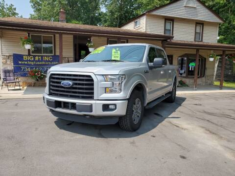 2016 Ford F-150 for sale at BIG #1 INC in Brownstown MI
