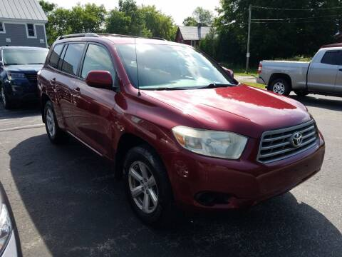 2009 Toyota Highlander for sale at CURTIS AUTO SALES in Pittsford VT