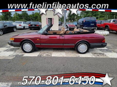 1993 Saab 900 for sale at FUELIN FINE AUTO SALES INC in Saylorsburg PA