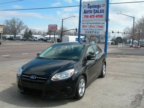 2014 Ford Focus for sale at Springs Auto Sales in Colorado Springs CO