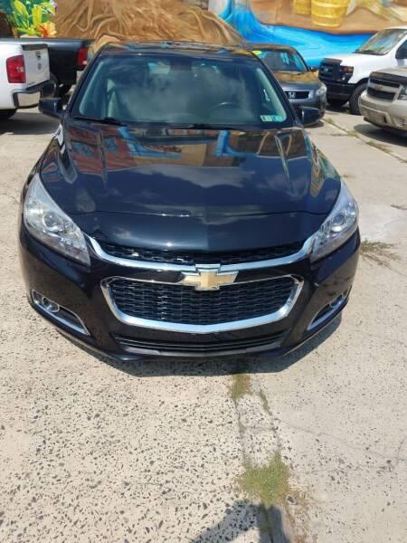 2015 Chevrolet Malibu for sale at Key and V Auto Sales in Philadelphia PA