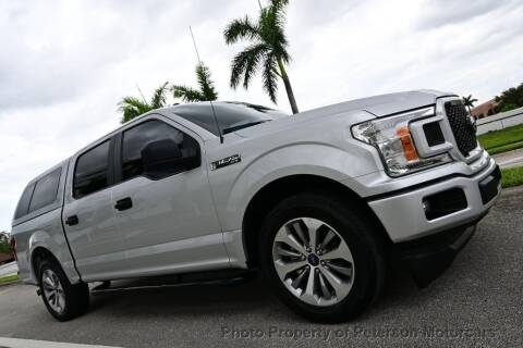 2018 Ford F-150 for sale at MOTORCARS in West Palm Beach FL