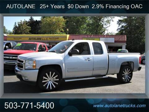 2011 Chevrolet Silverado 1500 for sale at Auto Lane in Portland OR