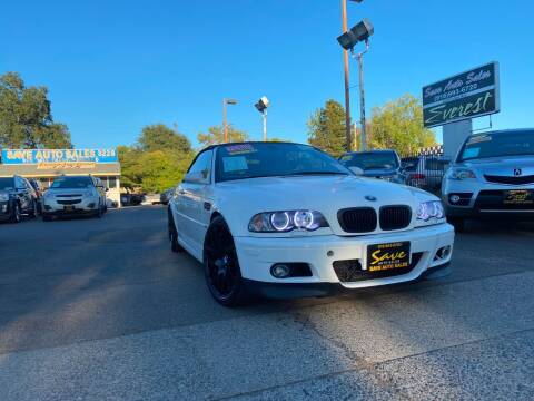 2004 BMW M3 for sale at Save Auto Sales in Sacramento CA