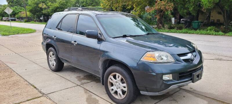 2006 Acura MDX for sale at G&J Car Sales in Houston TX