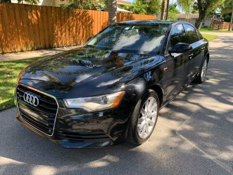 2014 Audi A6 for sale at FINANCIAL CLAIMS & SERVICING INC in Hollywood FL