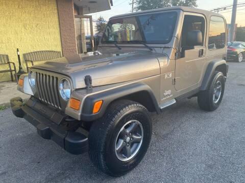 2003 Jeep Wrangler for sale at CAR SPOT INC in Philadelphia PA