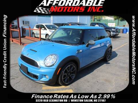2013 MINI Cooper s Bayswater for sale at AFFORDABLE MOTORS INC in Winston Salem NC