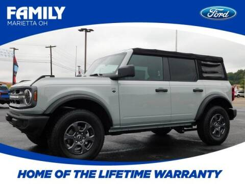 2021 Ford Bronco for sale at Pioneer Family preowned autos in Williamstown WV