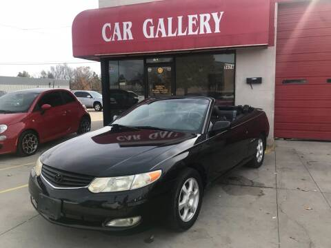 2002 Toyota Camry Solara for sale at Car Gallery in Oklahoma City OK