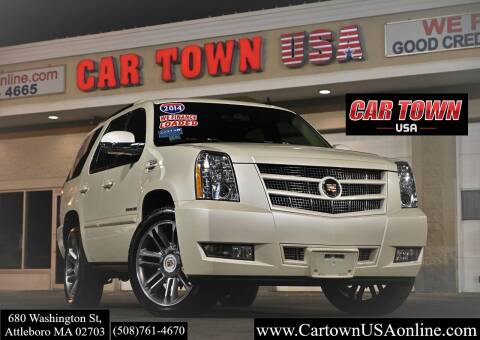 2014 Cadillac Escalade for sale at Car Town USA in Attleboro MA
