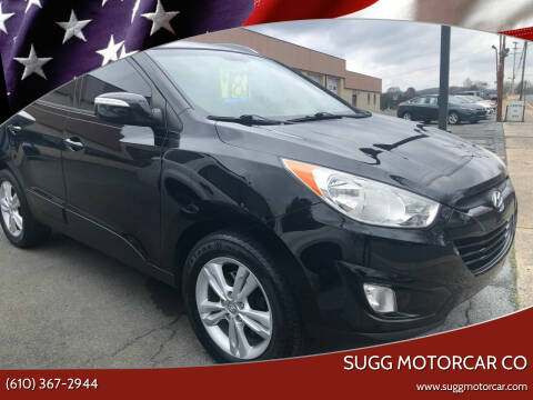 2013 Hyundai Tucson for sale at Sugg Motorcar Co in Boyertown PA