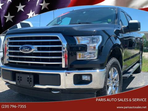 2017 Ford F-150 for sale at Paris Auto Sales & Service in Big Rapids MI