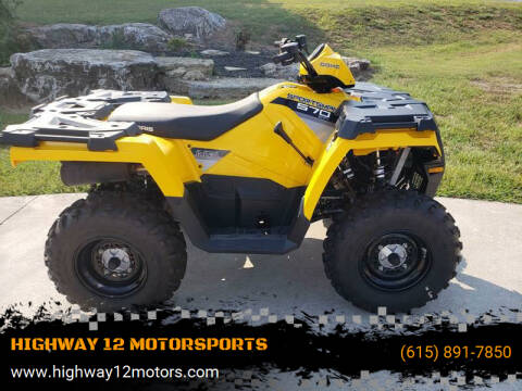 2016 Polaris SPORTSMAN 570 for sale at HIGHWAY 12 MOTORSPORTS in Nashville TN