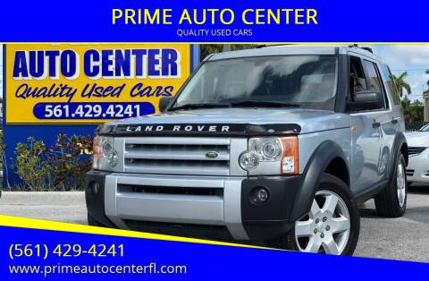 2006 Land Rover LR3 for sale at PRIME AUTO CENTER in Palm Springs FL