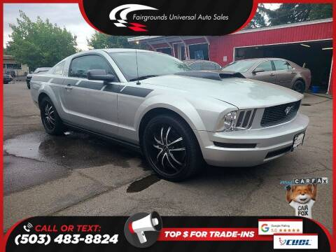 2006 Ford Mustang for sale at Universal Auto Sales in Salem OR